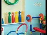 Открытый урок по акробатике в детском саду :))))